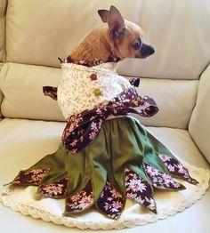 Dog Clothes PDF Sewing Pattern Small Dog by StitchwerxDesigns, $6.50