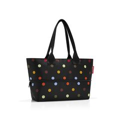reisenthel Shopper E1, Expandable 2-in-1 Tote, Converts from Handbag to Oversized Carryall ** Click on the image for additional details. (This is an affiliate link) Work Tote, Everyday Bag, Polka Dot Print, 2 In, Olive Green, Gym Bag, Taupe, Reusable Tote Bags, Handbags