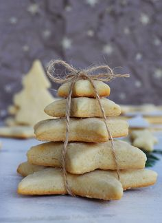 Galletitas navideñas My Recipes, Sweet Recipes, Snack Recipes, Dessert Recipes, Xmas Cookies, Cupcake Cookies, Café Bistro, Gifts For Cooks, Food Packaging Design