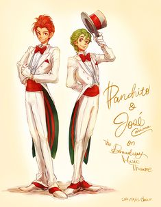 Panchito and Jose by *chacckco on deviantART