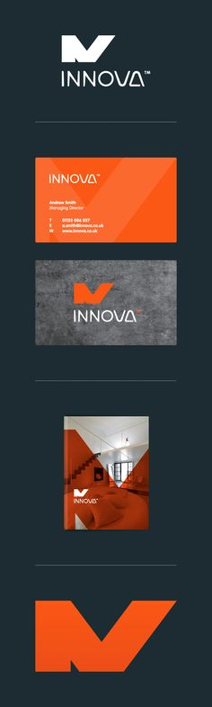 Innova Identity. Clean, sleek, modern...I dig.