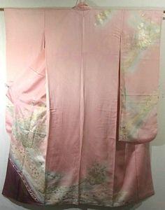 Furisode #292319 Kimono Flea Market Ichiroya