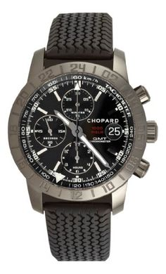 Chopard Men's Mille Miglia GMT 2009 Chronograph Black Dial Watch - Sport Watches - Ideas of Sport Watches - Chopard Men's Mille Miglia GMT 2009 Chronograph Black Dial Watch Chopard Army Watches, Fine Watches, Sport Watches, Cool Watches, Rubber Bracelets, Hand Watch, Man Cave Items, Chopard, Luxury Watches For Men