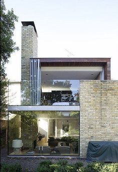 Brick Combined with Glass #Architecture