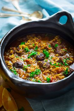 Lamb and Millet Tagine with Prunes. Lamb and Millet Tagine with Prunes and Cinnamon. Gluten-free comfort food for chilly temps to come. Tagine Recipes, Lamb Recipes, Soup Recipes, Dinner Recipes, Cooking Recipes, Free Recipes, Chilli Recipes, Lamb Stew, Cinnamon Recipes