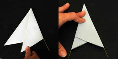 how to fold your paper into a triangle - Google Search