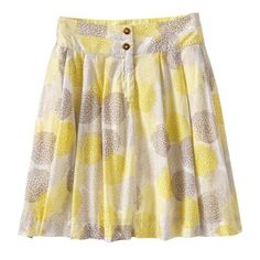 Old Navy Womens Pleated Floral-Print Skirts found on Polyvore