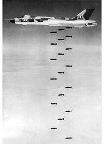Vulcan bomb release