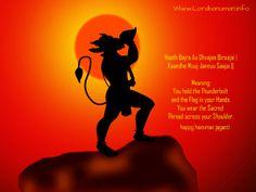 Happy Hanuman Jayanti To All Our Fans  Hanuman Jayanti Wallpaper