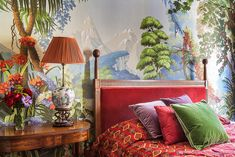 Posts about de Gournay wallpaper written by This Peaceful Home Hand Painted Wallpaper, Painting Wallpaper, Cool Wallpaper, De Gournay Wallpaper, Chinoiserie Wallpaper, Eden Design, Wall Design, Scenic Wallpaper, Home And Deco