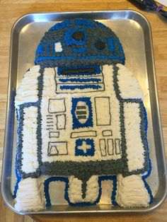 R2D2 cake for my hubby!