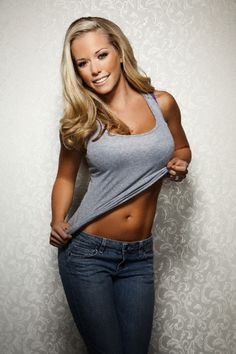 Kendra Wilkinson Baskett...this gal makes me laugh...also love her hubby & son...Go Kendra~Go Kendra...
