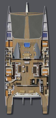 121 Aeroyacht Catamaran Photos | Catamaran Specialist LI, NY