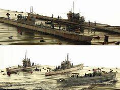 Model Shipwrights :: U-Boats & S-Boat Rescue Mission by Kostas Katseas