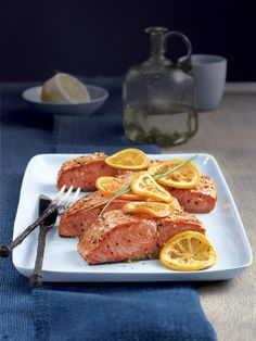 Citrus Grilled Salmon Recipe : Food Network - FoodNetwork.com