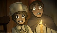 Redraw by Davestrider123 on Tumblr | Over the Garden Wall | Know Your Meme