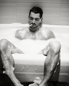 David Gandy by Mariano Vivanco, The Dolce Book | Homotography