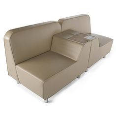 The Library Store - single seat with power $609.95  Serenity Series Lounge Seating