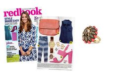 Redbook - September 2014 featuring the Rosanna Ring by Stella & Dot.  Love this one!  www.stelladot.com/sarahtaliaferro