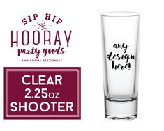 Shooter Event Shot Glasses 2.25oz GOLD & SILVER METALLIC Now Available Party Shot Glass Wedding Shot Glass Wedding Favors Shooters by SipHipHooray
