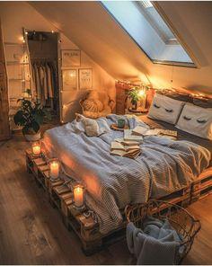 Fall Bedroom, Room Design Bedroom, Room Ideas Bedroom, Home Decor Bedroom, Ideas For Bedrooms, Bedroom Colours, Modern Bedrooms, Bedroom Wall, Master Bedroom