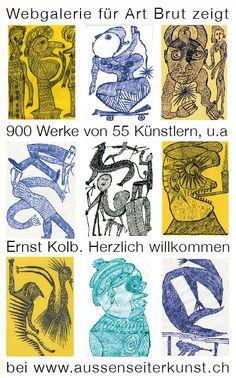 Zweck dieser Webseite war es, Arbeiten von Ernst Kolb, dem wiederentdeckten Original aus Mannheim aus einer Privatsammlung ins Internet zu stellen. Gezeigt werden gut 150 seiner Zeichnungen und darüber hinaus auch jene 26 Zeichnungen, welche sich in der Collection de l'Art Brut in Lausanne befinden, daneben andere Künstler aus der gleichen Sammlung. Als Download ist dort auch der Kolb gewidmete Artikel aus RAWVISION 79 in Englisch und Deutsch verfügbar.