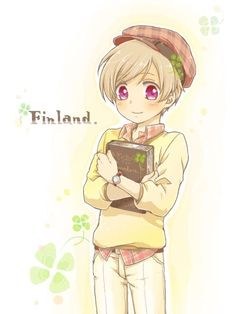 Hetalia - Finland : Ireland Outfit and Sweden Book