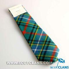 Gents Tie In Clan Bisset Tartan