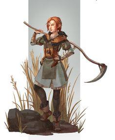 RPG druid