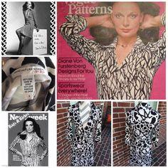 Vintage Diane von Furstenberg Wrap Dress 100% silk. Excellent condition. Diane von Furstenberg Dresses