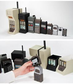 Matrioskas Mobile Evolution #mobiles #tecnologia