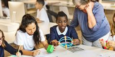 These 5 Teachers Showcase the Future of Blended Learning's 'Station Rotation' Model | EdSurge News #tlchat #edchat #elemchat #futurereadylibs #ISTELib
