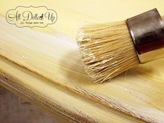 White Wax (over Chalk Paint) Tutorial