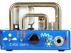 Zvex Nano Head Tube Amp by Zvex. $499.00. The Nano Head by Z.Vex Amps is a one-half watt (distorted) powerhouse that will surprise you with its apparent volume. Plug it into a 4x12 (or any 8 to 16 ohm speaker) and listen to it roar! This amp is voiced to deliver classic rock tone, with a very high level of crunch available if it's wanted. Just crank the volume knob around to the level of distortion you desire, from a very quiet (one tenth watt) clean mode to a m...