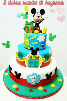 Mickey Mouse cake ♡