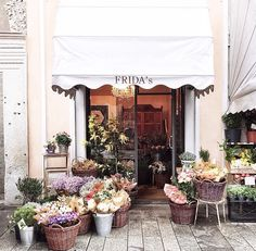Hi my friends!-Wait please don't pass by. Would you like to buy flowers? There freshly picked Anyone can Buy! ~Helen