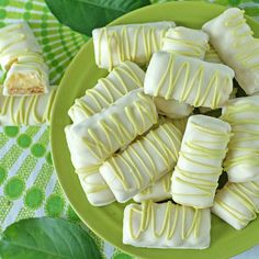 Key Lime White Chocolate Mini Bars