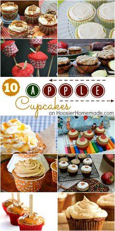 10 Apple Cupcake Rec
