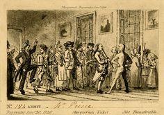 Masquerade ticket, Bayswater, 1818
