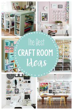 15 Fun Amazing Craft Room Ideas