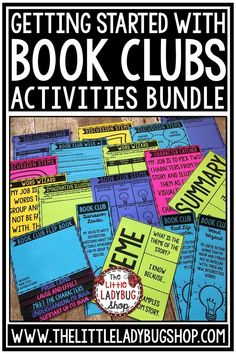Grow your readers with this complete Book Club Activities Bundle! It has everything you need to get your students started on literature circles! From Flip Books, to Games this Bundle is jammed packed! This an exciting and educational way for your students to grow as readers in your class! I have used this Book Club 3rd grade, 4th grade, & 5th grade students! #bookclubsforkids #literaturecircleactivities #readingresponse