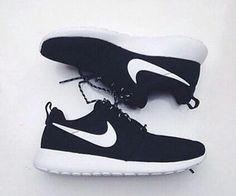 Nike's on