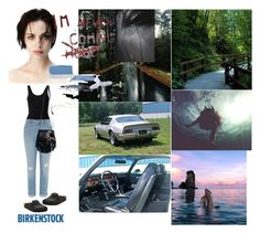 """""""Deep Wound: A Troubled Girl Gets Away and Finds Peace"""" by chrisiggy ❤ liked on Polyvore featuring art"""