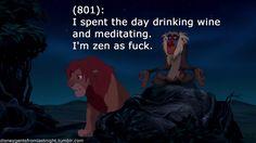 Disney Gents from Last Night