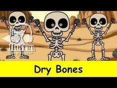 Muffin Songs - Dry Bones (Dem Bones)   nursery rhymes & children songs with lyrics