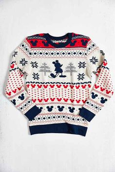 Mickey Fair Isle sweater