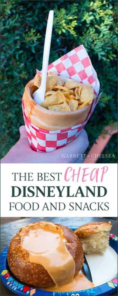 The best cheap food and eats at Disneyland and California Adventure on a budget. | GarrettAndChelsea.com