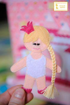 """She is so cute. Развивающая книга """"Кукольный домик"""""""