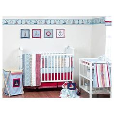 Bacati Boys Stripes and Plaids Crib Bedding Collection