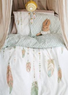 Elodie Details´ two piece bedding set includes a pillow case and duvet cover made from unbelievably smooth and soft Percale Cotton, Oeko-tex certifie